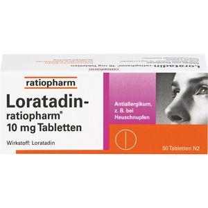LORATADIN-ratiopharm 10 mg Tabletten
