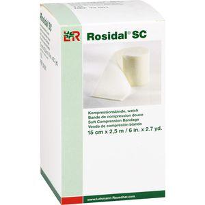 ROSIDAL SC Kompressionsbinde weich 15 cmx2,5 m