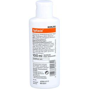 SPITACID Händedesinfektion Taschenflasche