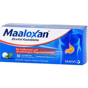 MAALOX 25 mVal Kautabletten