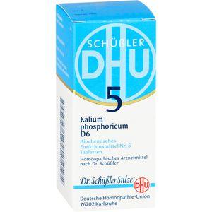 BIOCHEMIE DHU 5 Kalium phosphoricum D 6 Tabletten