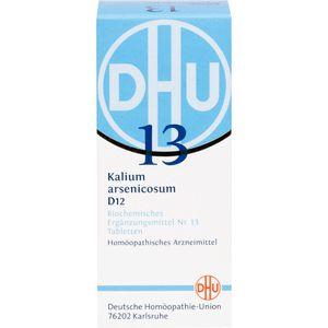 BIOCHEMIE DHU 13 Kalium arsenicosum D 12 Tabletten