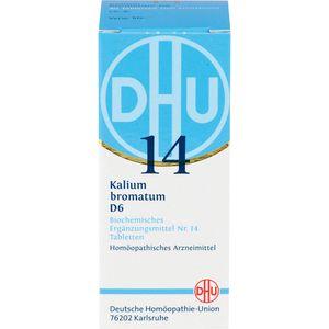 BIOCHEMIE DHU 14 Kalium bromatum D 6 Tabletten
