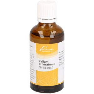 KALIUM CHLORATUM 1 Similiaplex Tropfen