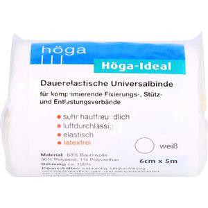 HÖGA-IDEAL Binde 6 cmx5 m weiß