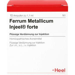 FERRUM METALLICUM INJEEL forte Ampullen