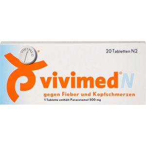 VIVIMED N gegen Fieber und Kopfschmerzen Tabletten