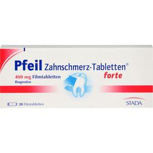 PFEIL Zahnschmerz-Tabletten forte Filmtabletten
