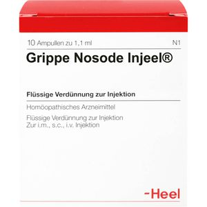 GRIPPE NOSODE Injeel Ampullen
