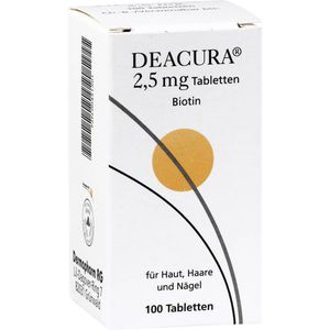 DEACURA 2,5 mg Tabletten