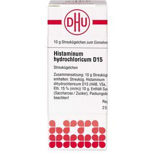 HISTAMINUM hydrochloricum D 15 Globuli