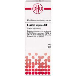 CASCARA SAGRADA D 4 Dilution