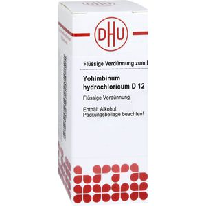 YOHIMBINUM HYDROCHLORICUM D 12 Dilution