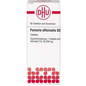 FUMARIA OFFICINALIS D 2 Tabletten