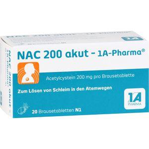 NAC 200 akut-1A Pharma Brausetabletten