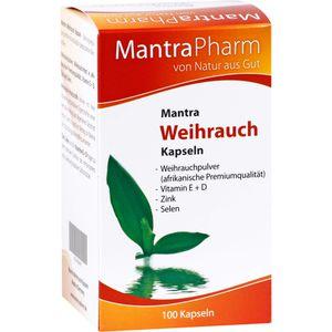 MANTRA Weihrauch Kapseln Vitamin E Zink u.Selen