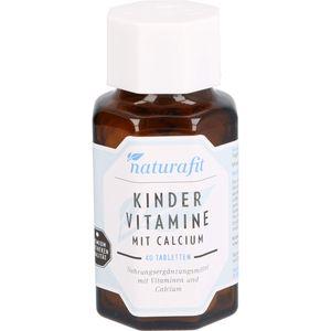 NATURAFIT Kindervitamine m.Calcium Lutschtabletten
