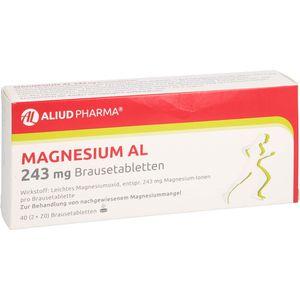 MAGNESIUM AL 243 mg Brausetabletten