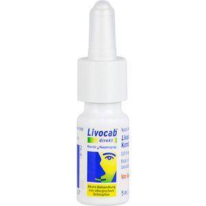 LIVOCAB direkt Kombi 4 ml Augentr.+5 ml Nasenspray