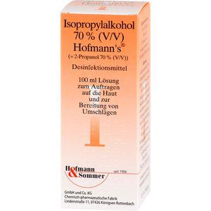ISOPROPYLALKOHOL 70% V/V Hofmann's