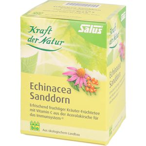 ECHINACEA SANDDORN Tee Kraft der Natur Salus Fbtl.