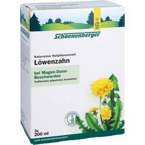 LÖWENZAHN SAFT Schoenenberger Heilpflanz.Säfte