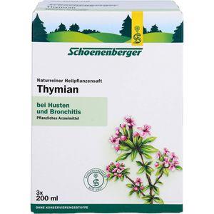 THYMIAN SAFT Schoenenberger Heilpflanzensäfte