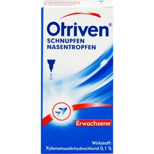OTRIVEN 0,1% Nasentropfen f.Erw.u.Schulkdr.