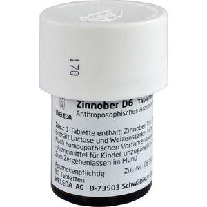ZINNOBER D 6 Tabletten