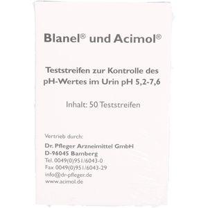 TESTSTREIFENHEFT z.Bestimmung d.Urin ph Wertes