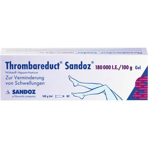 THROMBAREDUCT Sandoz 180.000 I.E. Gel