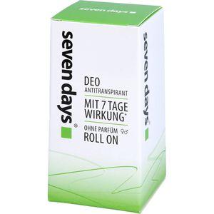 SEVEN DAYS Das Antitranspirant Roll-on Big Ball
