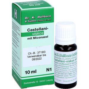 CASTELLANI viskos m. Miconazol Lösung