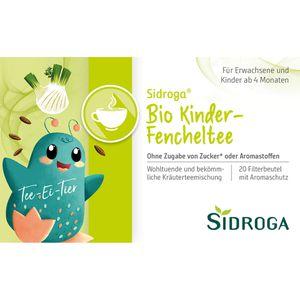SIDROGA Bio Kinder-Fencheltee Filterbeutel