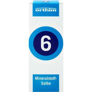 MINERALSTOFF-Salbe Nr.6