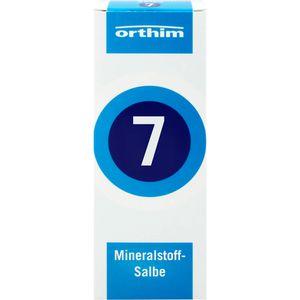 MINERALSTOFF-Salbe Nr.7