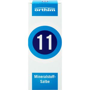 MINERALSTOFF-Salbe Nr.11