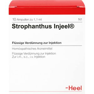 STROPHANTHUS INJEEL Ampullen