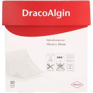 DRACOALGIN 10x10 cm Alginatkompresse