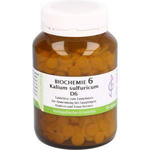 BIOCHEMIE 6 Kalium sulfuricum D 6 Tabletten