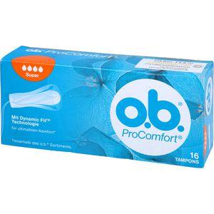 O.B. Tampons ProComfort super