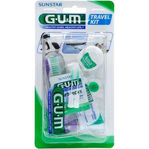 GUM Travel Kit Zahnbürste+Zahnseide+Zahnpasta