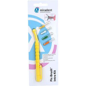 MIRADENT Interd.Pic-Brush Intro Kit 1H+4B.gelb