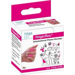 FINGERFLEX 2,5 cmx4,5 m pink latexfrei
