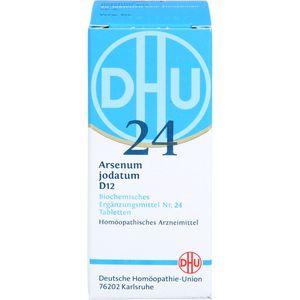 BIOCHEMIE DHU 24 Arsenum jodatum D 12 Tabletten