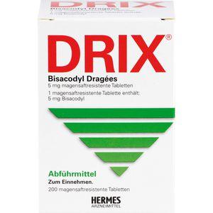 DRIX Bisacodyl Dragees