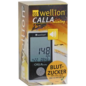 WELLION CALLA dialog Blutzuckermessger.Set mg/dl