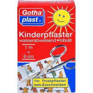 GOTHAPLAST Kinderpflaster 6 cmx1 m