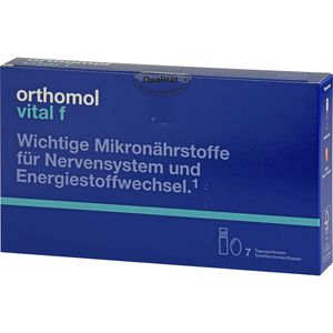 ORTHOMOL Vital F Trinkfläschchen/Kaps.Kombipack.
