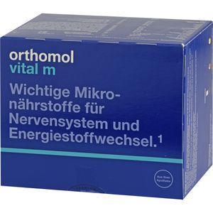 ORTHOMOL Vital M Trinkfläschchen/Kaps.Kombipack.